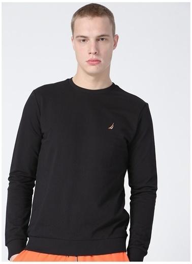 Nautica Nautica Erkek Siyah Sweatshirt Siyah